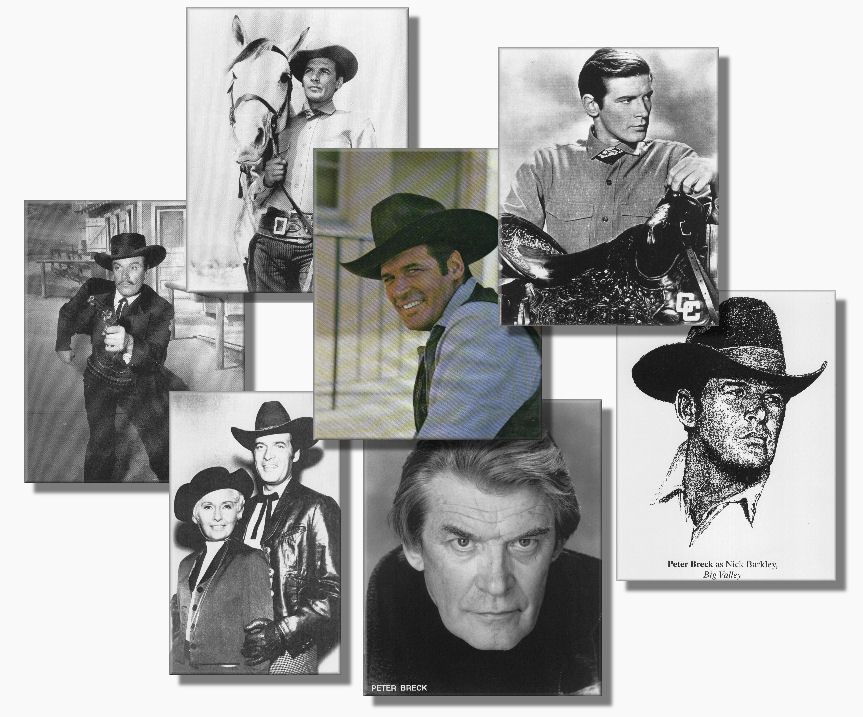 seven pictures of Peter Breck